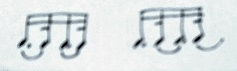 Bach rhythm