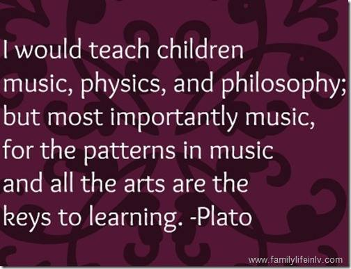 Music key to learning
